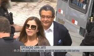 PF ouve esposa de João Santana na Operação Lava Jato