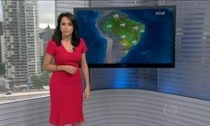Confira a previsão do tempo para todo o Brasil nesta sexta-feira (4)