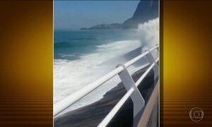 Engenheiros apontam falhas graves em ciclovia que desabou no Rio