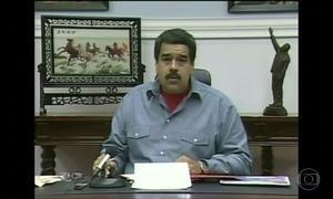 Maduro chama embaixador de volta em protesto à decisão do Senado