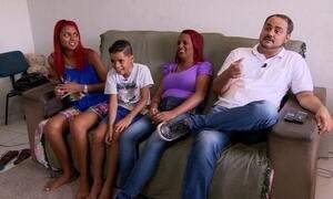 Típica família brasileira revela suas aspirações, dúvidas e esperanças