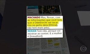 Gravações indicam apoio de Renan a mudança na Lei de Delação Premiada