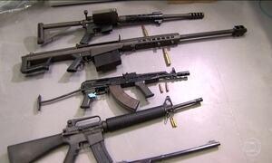Armas apreendidas no interior de SP foram usadas em outros assaltos