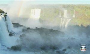Cataratas do Iguaçu são atração especial no Dia do Turista