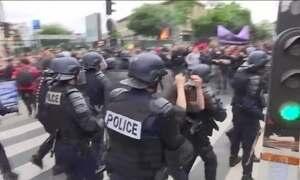 França volta a ter protestos contra reforma trabalhista