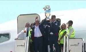 Portugal recebe com festa campeões da Eurocopa