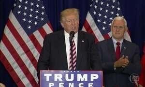 Convenção republicana termina com Trump atacando Hillary