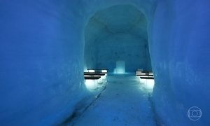Islândia tem a maior caverna de gelo já feita pelo homem