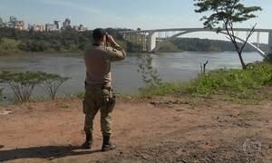 Segurança é reforçada nas fronteiras com Paraguai e Argentina