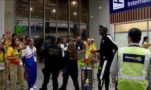 Homem mais veloz do mundo já está no Rio para a Olimpíada