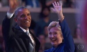 Obama promete levar Hillary à vitória nas eleições de novembro nos EUA