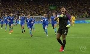 Brasil derrota a Austrália em jogo emocionante decidido nos pênaltis