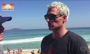 Quatro nadadores dos EUA são assaltados no Rio de Janeiro