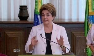 Dilma propõe que população decida se deseja novas eleições