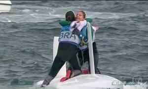 Brasil conquista ouro na vela com Martine Grael e Kahena Kunze