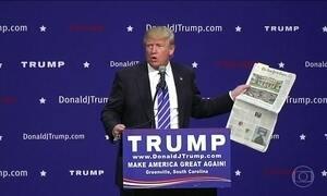 Donald Trump é o 'rei da polêmica' com seus ataques à imprensa