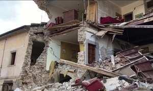 Terremoto na Itália deixa mortos e desaparecidos