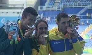 Versatilidade é a marca de dois brasileiros paralímpicos