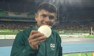 Na Paralimpíada do Rio, Brasil soma 72 medalhas; em Londres, foram 43