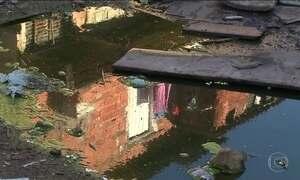Obras de água e esgoto estão paradas, e não é por falta de dinheiro