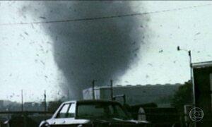 Você Só Tem uma Chance: tornado furioso deixa homem encurralado
