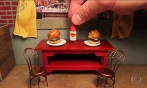 Receitas de comidas em miniatura fazem sucesso na internet