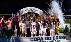 Corinthians/Audax conquista título de campeão na Copa do Brasil Feminina