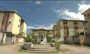 Casas de plano habitacional dos anos 80 caíram ou estão interditadas