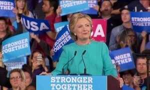 Veja últimos passos de Hillary e Trump antes das eleições americanas
