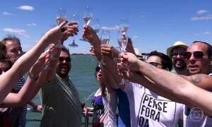 Globo Repórter descobre espumante feito com água do Rio São Francisco