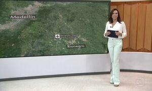 Polícia local afirma que há 76 mortos em queda de avião da Chapecoense