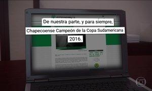 Adversário pede que Chapecoense seja campeã da Copa Sul-Americana