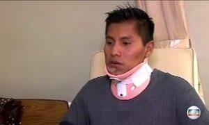 Sobrevivente Erwin Tumiri afirma não saber que voo iria direto para Medellín