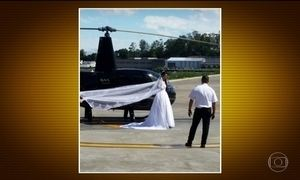 Acidente de helicóptero mata noiva que ia para o casamento, em SP