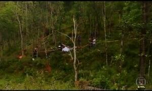 Polícia investiga queda de helicóptero que matou noiva e mais três em SP