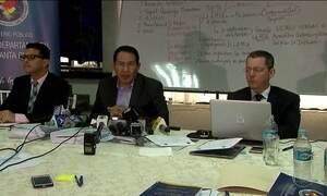 Promotores de Bolívia, Colômbia e Brasil investigam acidente da LaMia
