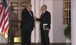 Trump escolhe nomes polêmicos para equipe de governo
