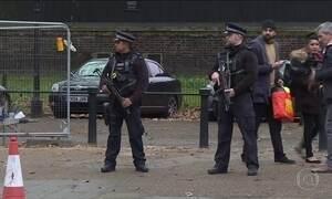 Londres reforça o policiamento para garantir a segurança no Réveillon