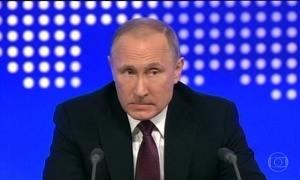 Putin decide não responder às sanções impostas pelos EUA