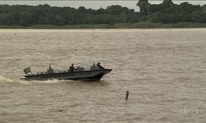 Rota Solimões é corredor de entrada de drogas no Brasil; veja reportagem