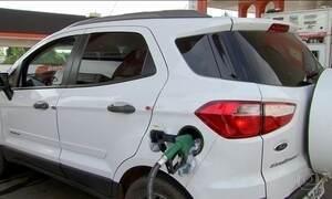 Gasolina entra 2017 com o preço mais alto registrado em um ano