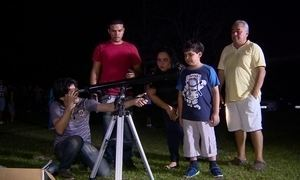 Estudante cria clube de astronomia