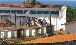 Presos continuam clima de rebelião em presídio do Rio Grande do Norte