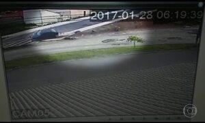 Polícia de Itu procura motorista que atropelou moto com ex na garupa