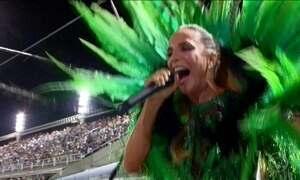 Enredo da Grande Rio, Ivete Sangalo estreia em ensaio técnico na Sapucaí