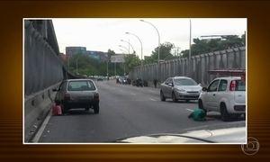 Violência em vias expressas do Rio assusta motoristas e passageiros
