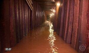 Imagens mostram túnel que seria usado para fuga de presos no RS