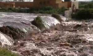Enchente no Chile deixa três mortos e milhões de pessoas sem água potável