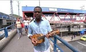 Pretinho da Serrinha, Repórter por um Dia, mostra a Madureira musical