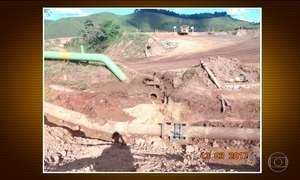 Duto de rejeitos de minério da Vale se rompe em MG e vazamento atinge rios